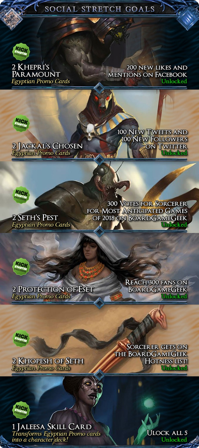 All Social Stretch Goals Have Been Unlocked!