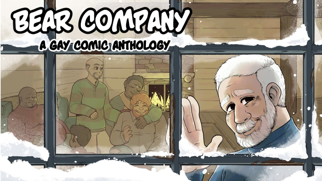 Bear Company: A Comic Anthology About Big Gay Men project video thumbnail