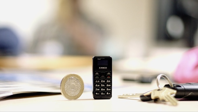 The World's Smallest Phone - Introducing The Zanco tiny t1 by Clubit