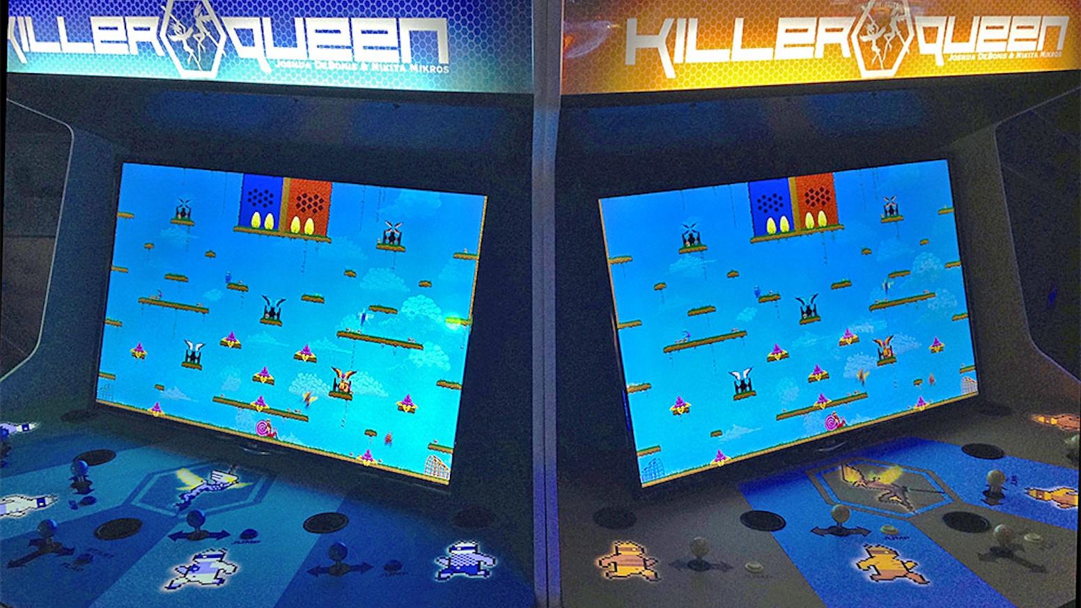 Bring Killer Queen to Quarters Arcade Bar! by Quarters