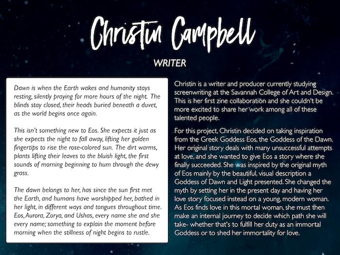 Christin Campbell: http://christincampbell.com/