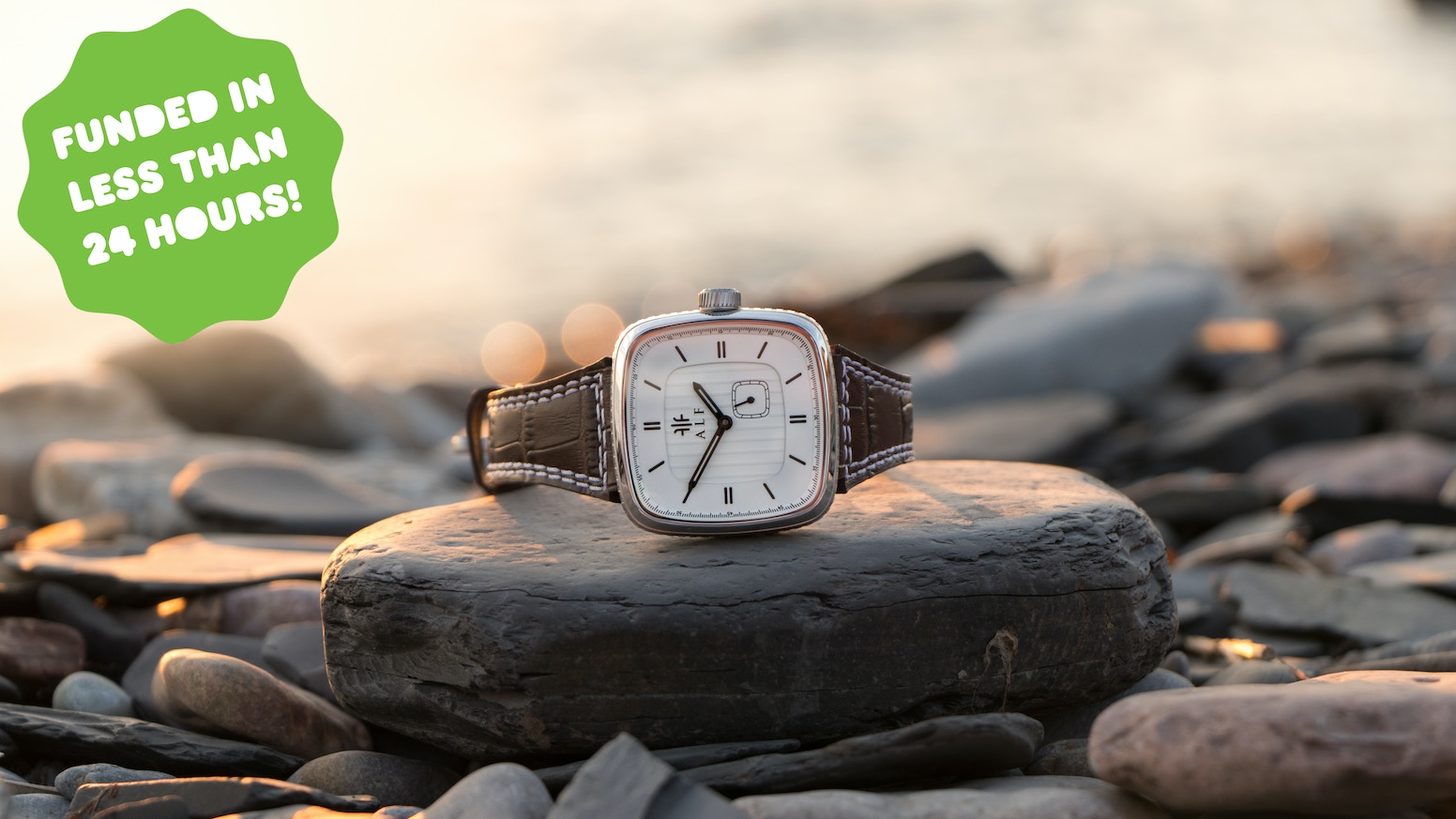 Uniquely designed square watches. Automatic movement and premium materials. One-time offer.