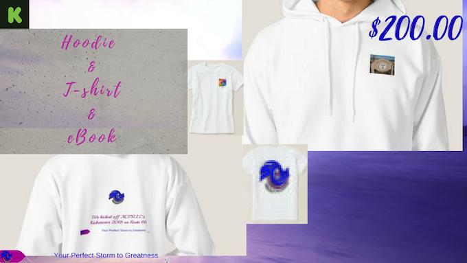 $200.00 Hoodie/Mug/T-Shirt Package