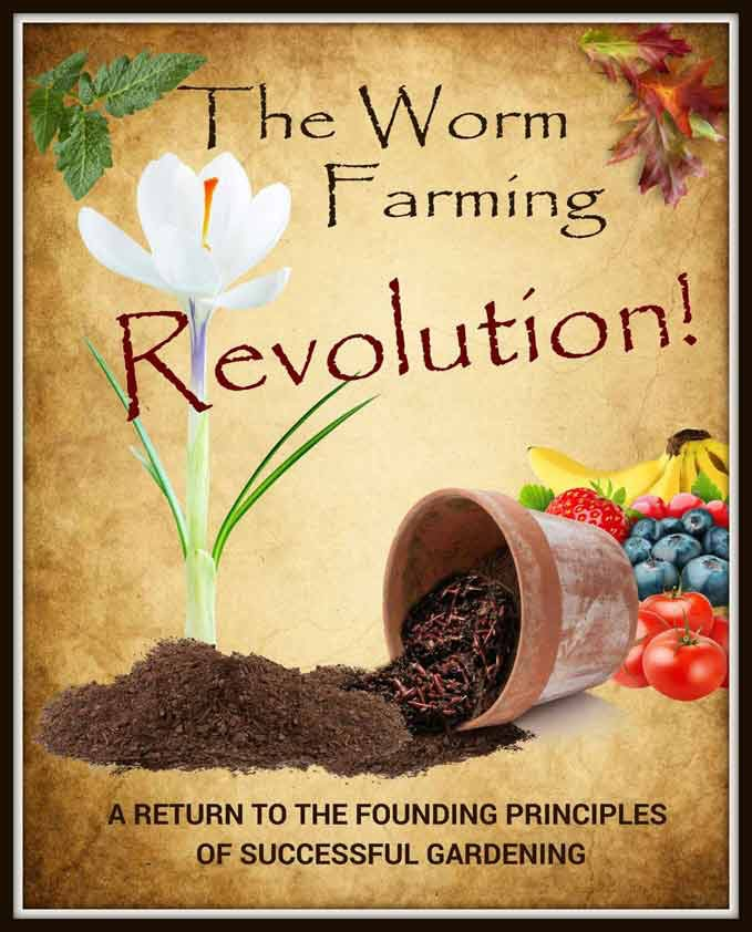 245 page Worm Farming Revolution eBook