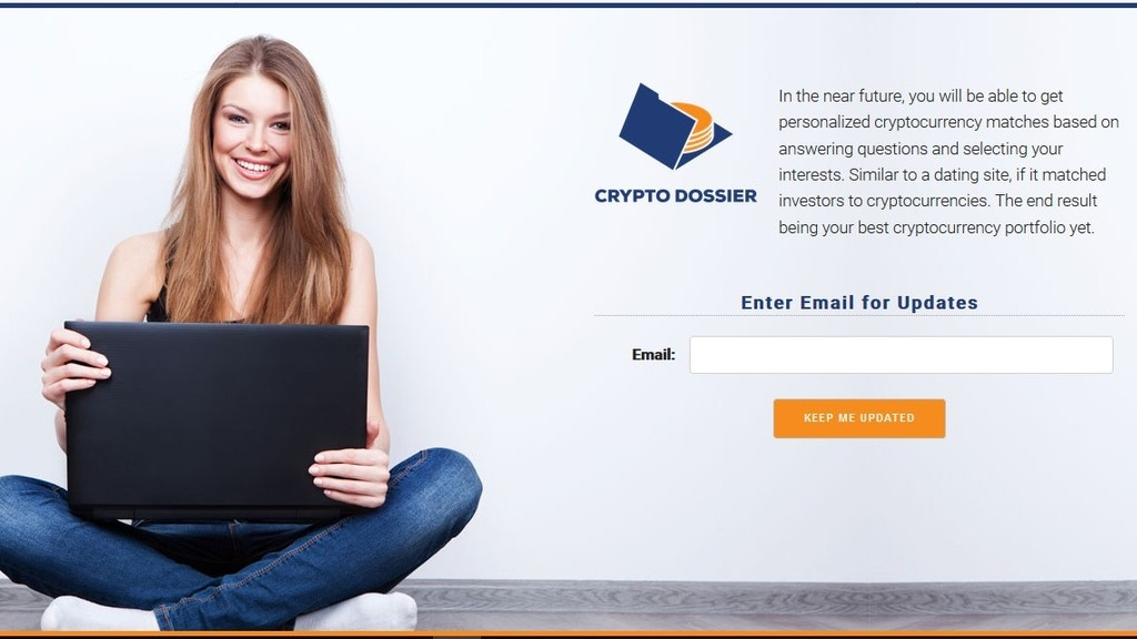 CryptoDossier- Personalized Cryptocurrency Matching