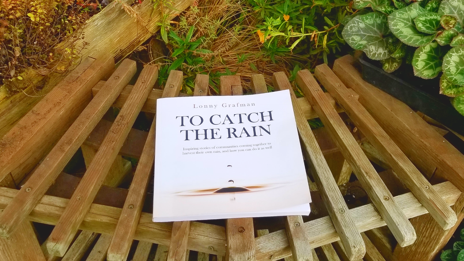 A book of inspiring stories of communities coming together to harvest the rain, and how you can do it too!