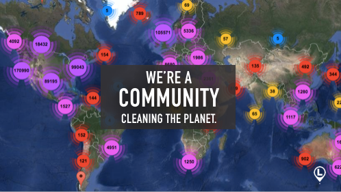 60,000 people, 115 countries, 1 giant impact