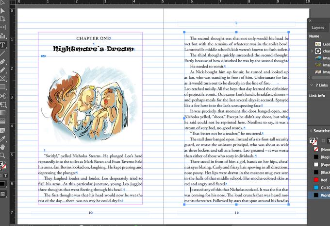 Leo & Helen: Book Design Sample