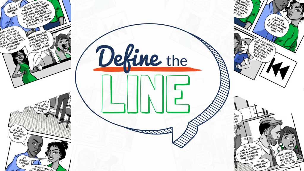 Define the Line - Comic Book - Sexual Harassment Training project video thumbnail