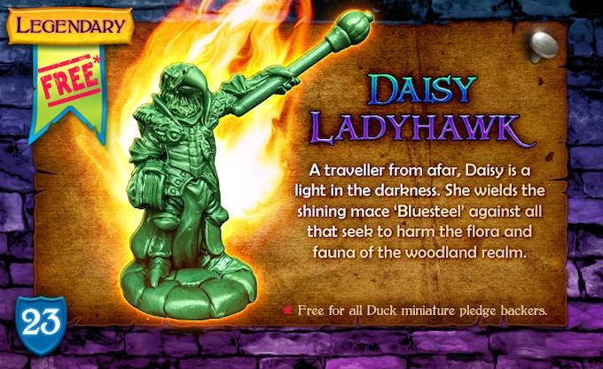Legendary Hero Unleashed: Daisy Ladyhawk!