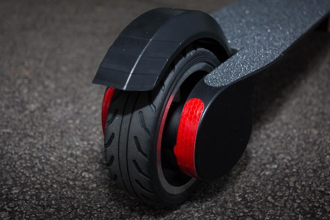 Back Manual Brake As Double Braking System