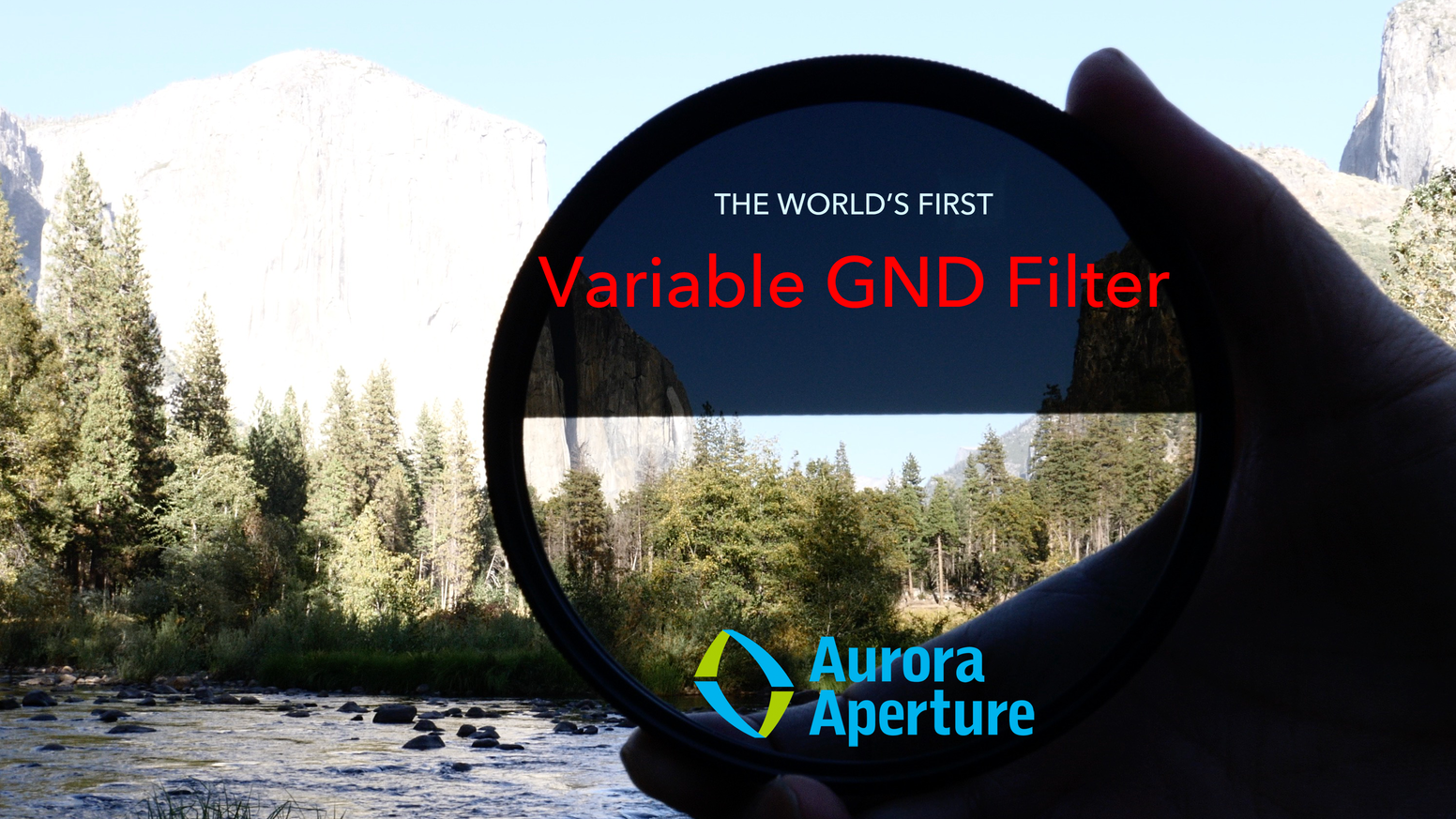 The Aurora PowerGXND is an hard transition graduated neutral density (GND) filter with continuous range up to 5 stops.