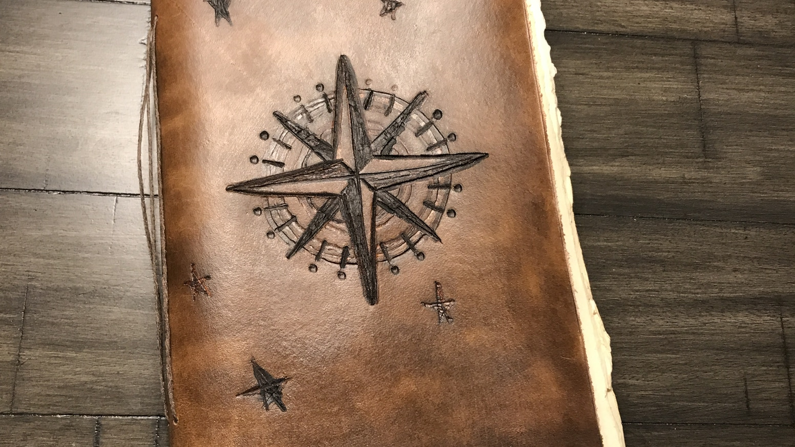 handmade rustic leather journals by lilly taylor kickstarter