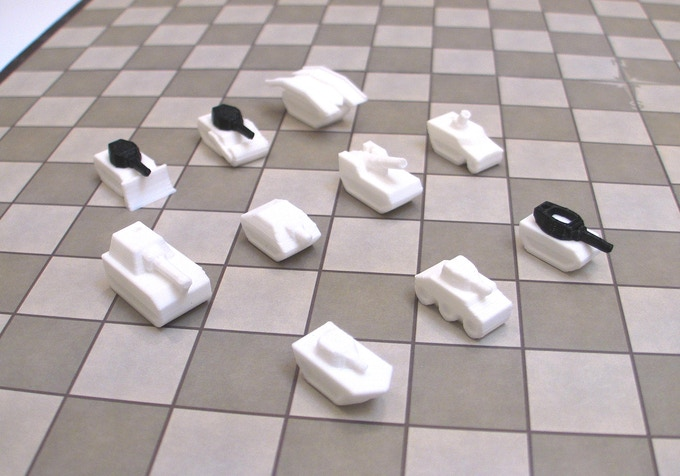 Tank Chess by Forsage Games — Kickstarter