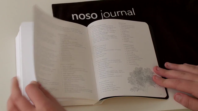 noso making the benefits of journaling easily accessible by quicken kickstarter. Black Bedroom Furniture Sets. Home Design Ideas