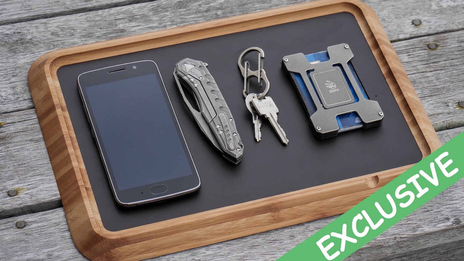 everyday carry tray the edc life tray by sonja ostermeier