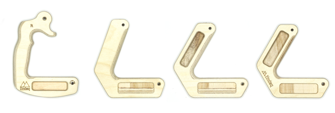 Evolution from our first product, the Duck Rings