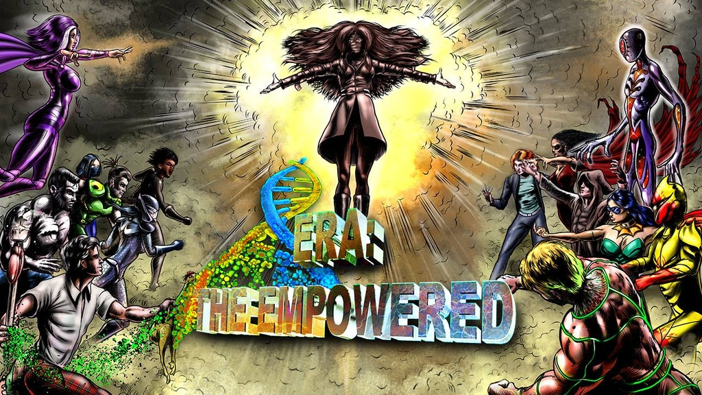 Era: The Empowered - A super-powered RPG! project video thumbnail