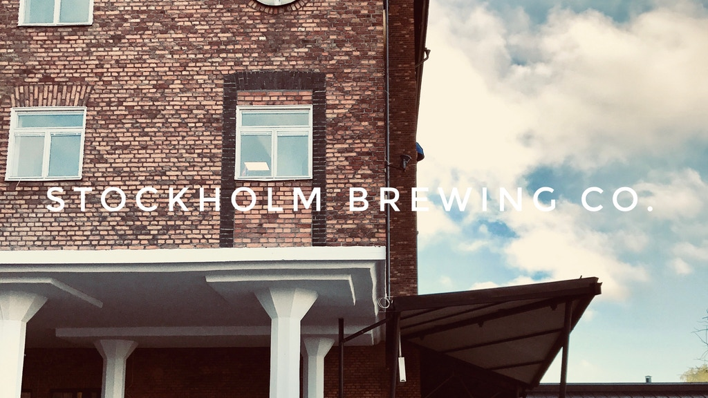 STOCKHOLM BREWING CO. - building a new brewery project video thumbnail