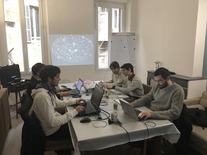 The Unistellar team at work