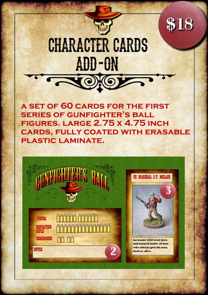 25cd101bd9499 Gunfighter s Ball Wild West Miniatures Game by Forrest Harris ...