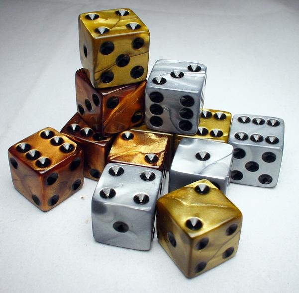 example of dice