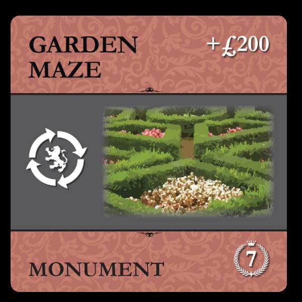 Garden Maze Monument
