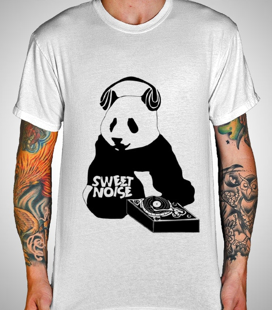 Sweet Noise T-Shirt (black & white)