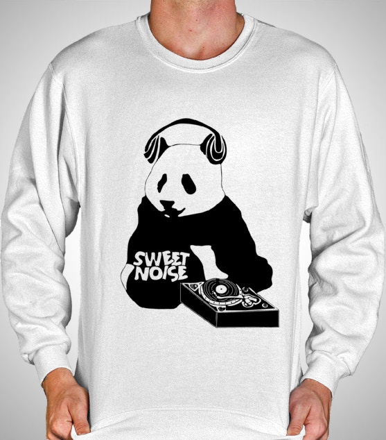 Sweet Noise Crew Neck (black & white)