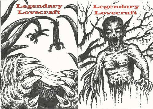 The incredible Allen K--the artist that personifies Lovecraft!