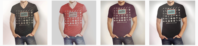 T-shirt reward examples