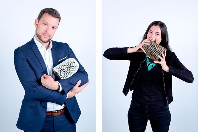 Pierre-Antoine Pluvinage, Head of 3D Printing, ARMOR Group / Mathilde Berchon, Lead TechShop – Ateliers Leroy Merlin