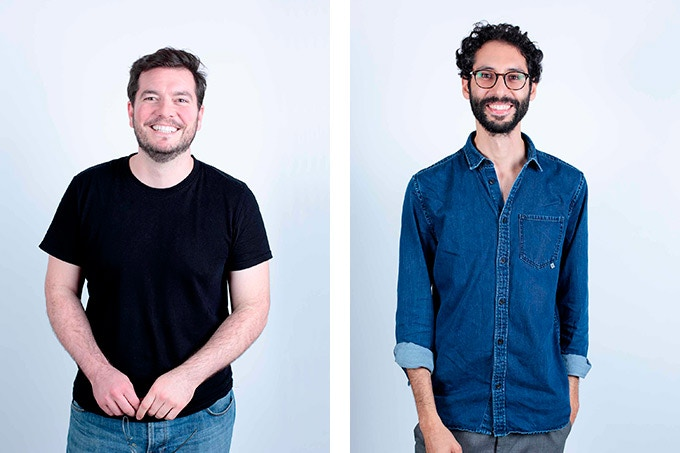 William Boujon & Julien Benayoun, designers and founders at bold-design