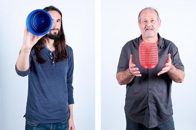 Clément Chappert, founder at Dood Studio / Mickael Krump, electronic expert at Sector