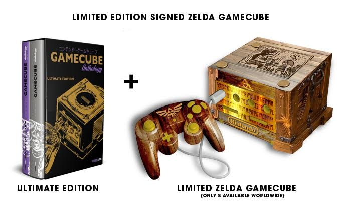 gamecube anthology the ultimate book by geeks line kickstarter