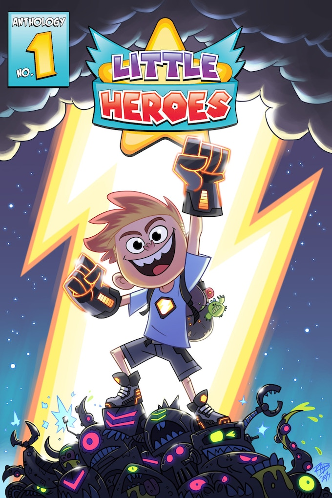 Little Heroes Comic Anthology Cover