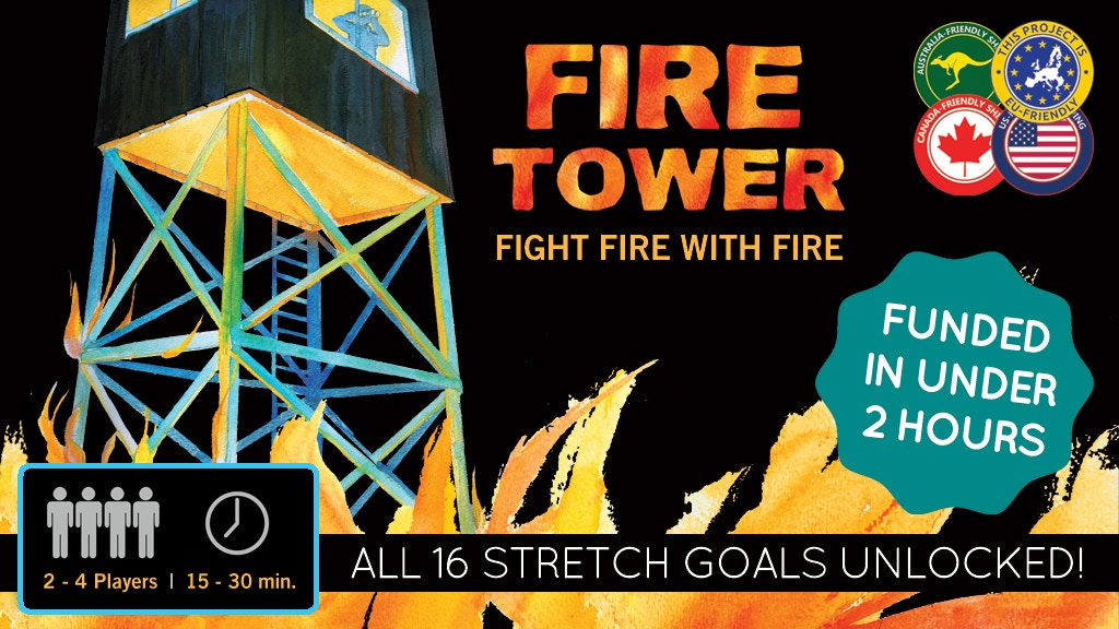 Fire Tower project video thumbnail