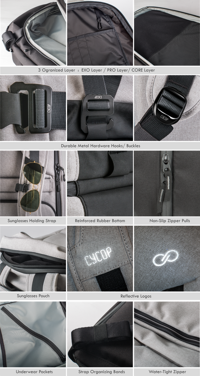 DayPac  The Ultimate Backpack for Work   Play by CYCOP — Kickstarter b99c6697ad016