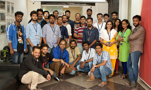India may be hot, but Lakshya Digital brings the fire! Meet the team stoking character production.
