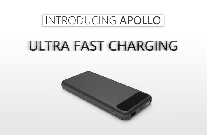 apollo world 39 s first graphene battery usb c pd power bank by kickstarter. Black Bedroom Furniture Sets. Home Design Ideas