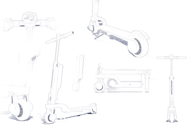 The Blueprint Sketch Of FleXon