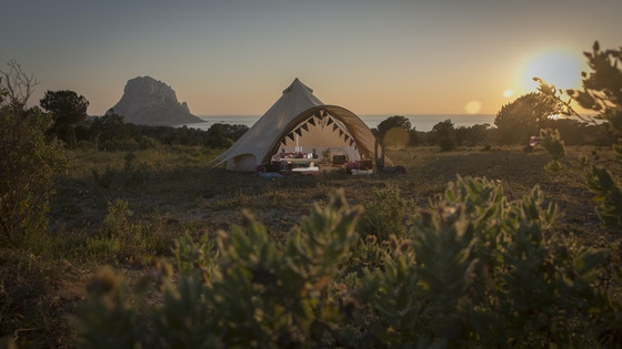 The Star Bell Tent Camping Range