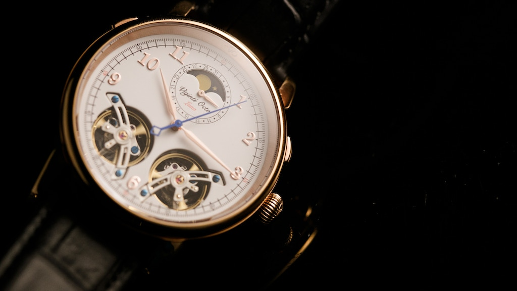 VO-Viginti Octo Luxury Automatic Moon Phase Watch project video thumbnail