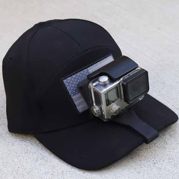 SIDEKICK POV Cap Mount for the GoPro® HERO Camera