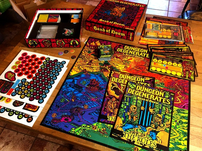 DUNGEON DEGENERATES - HAND OF DOOM THE BOARD GAME IS AVAILABLE FROM THE GOBLINKO MEGAMALL!!! ALL OTHER GAMES ARE NOW IRRELEVANT!