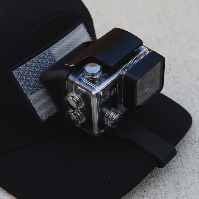 SIDEKICK POV Cap Mount for the BeHD® Cameras