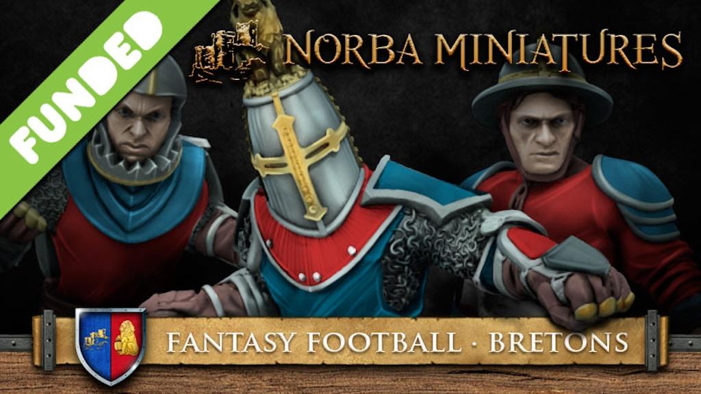 Fantasy Football Bret and humans Norba Miniatures project video thumbnail