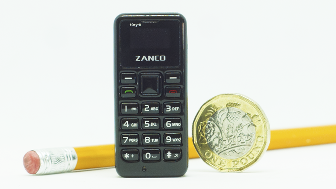 The World's Smallest Phone - Introducing The Zanco tiny t1