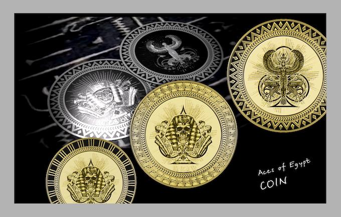 prototype coins Aces Egypt