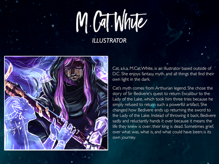 M.Cat.White: http://mcatwhite.com/